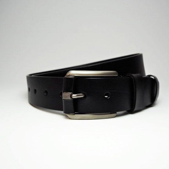 hashbag_lb_02_men_genuine_leather_belt_big_wide_half_inch_casual_jeans_black_roll_front