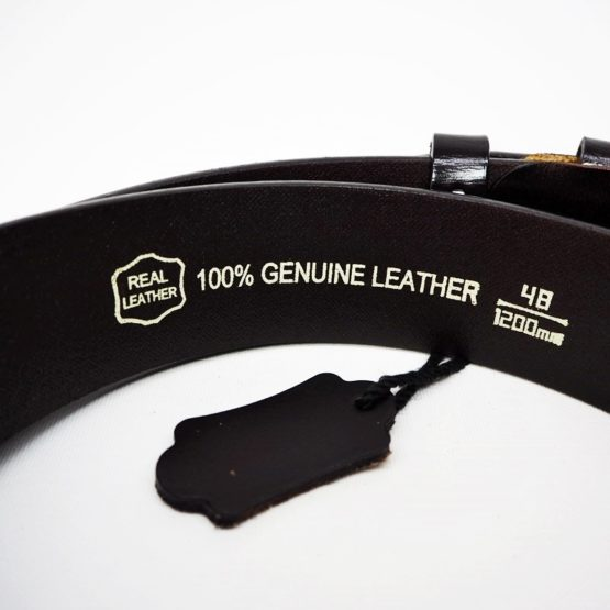 hashbag_men_genuine_leather_belt_big_wide_half_inch_casual_jeans_black_back_guarantee_printed